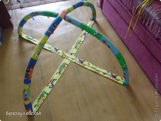 Этот коврик я сшила для своей младшей дочки. Подробный МК можно посмотреть здесь: http://www.happy-giraffe.ru/community/25/forum/post/60050/  на этом фото коврик уже готов к эксплуатации. фото 2