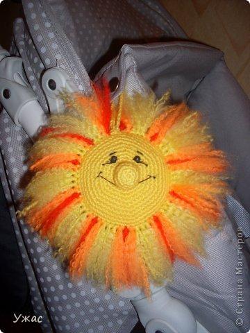 вот такое солнышко у меня получилось по МК Елены Беловой!!!! Спасибо ей большое!!! фото 1