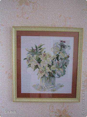 белые лилии фото 1