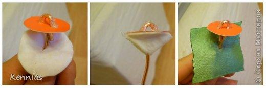 Здравствуйте!)В инете не нашла нормальный МК розы на стебле, поэтому решила сделать сама)Может в своей работе я пошла по сложному пути (если кто-то знает как легче сделать, поделитесь), но все-же))Прошу любить и жаловать!) фото 18