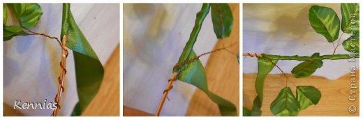 Здравствуйте!)В инете не нашла нормальный МК розы на стебле, поэтому решила сделать сама)Может в своей работе я пошла по сложному пути (если кто-то знает как легче сделать, поделитесь), но все-же))Прошу любить и жаловать!) фото 21