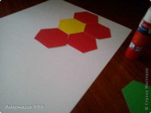 """1 класс. Мозаика """"Цветочек""""!  фото 7"""