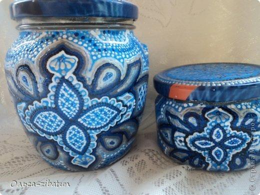 Баночки -наборы, бутылка и ваза. фото 10