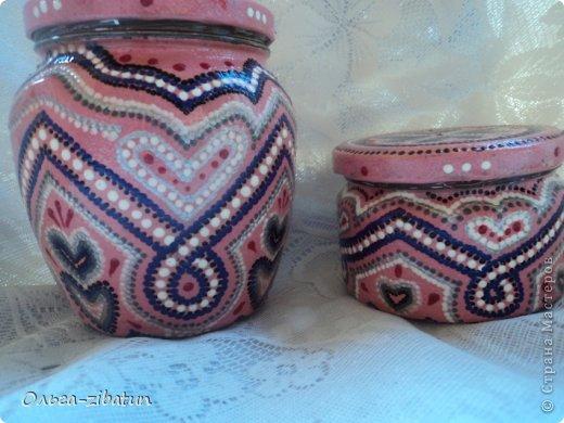 Баночки -наборы, бутылка и ваза. фото 7
