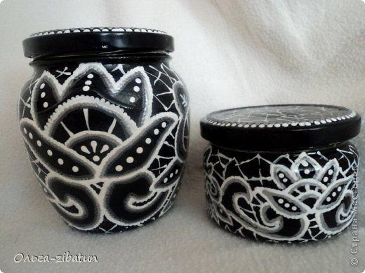 Баночки -наборы, бутылка и ваза. фото 8