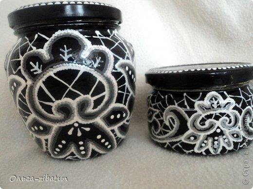 Баночки -наборы, бутылка и ваза. фото 9