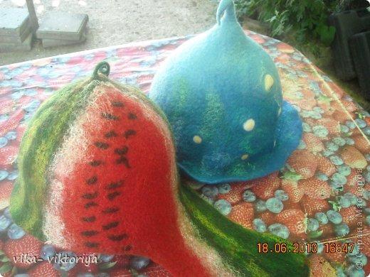 Шапка для бани ,,Морской берег,, фото 4