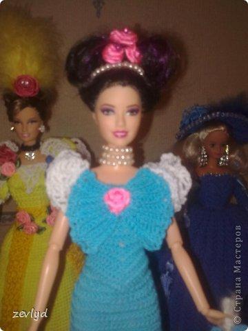 Платье для куклы Барби.  фото 24