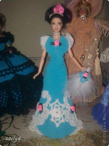 Платье для куклы Барби.  фото 23