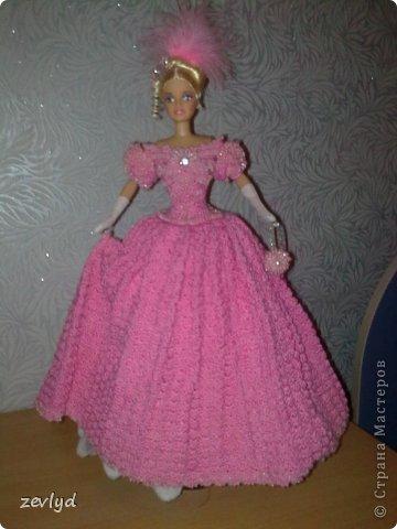 Платье для куклы Барби.  фото 25