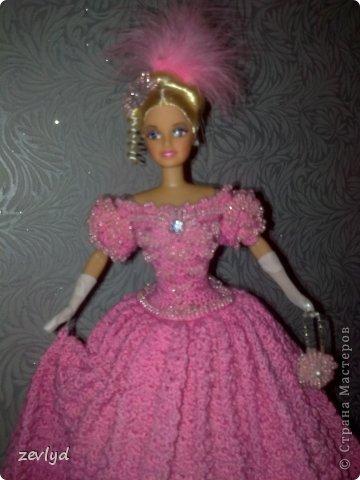 Платье для куклы Барби.  фото 26