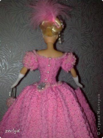 Платье для куклы Барби.  фото 27