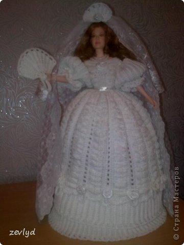 Платье для куклы Барби.  фото 20