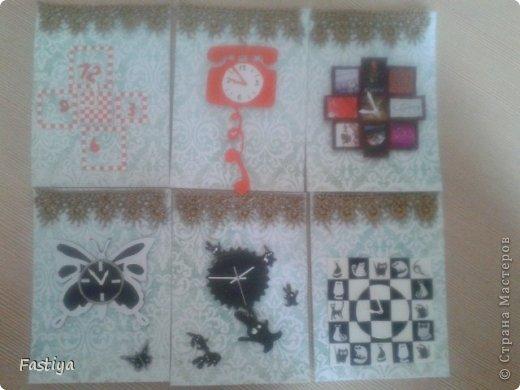 """Представляю свою серию карточек - """"Часы на стене"""".  Первой к выбору приглашается Танюша_003. фото 1"""