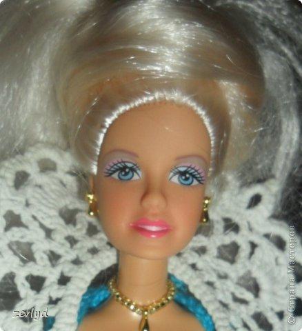 Платье для куклы Барби.  фото 19