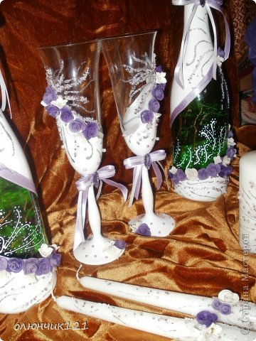 Заказ набора в фиолетовом цвете. Что скажете? фото 6
