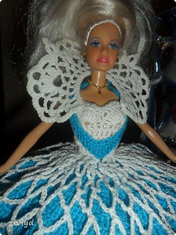 Платье для куклы Барби.  фото 18