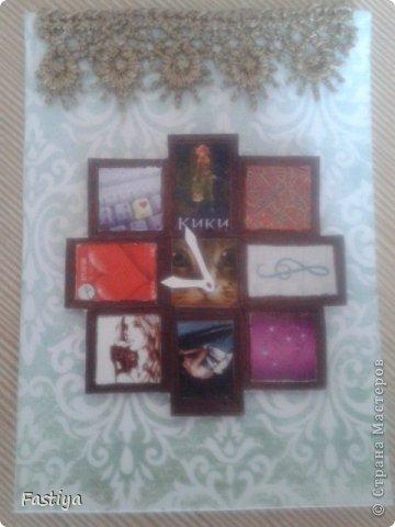 """Представляю свою серию карточек - """"Часы на стене"""".  Первой к выбору приглашается Танюша_003. фото 4"""