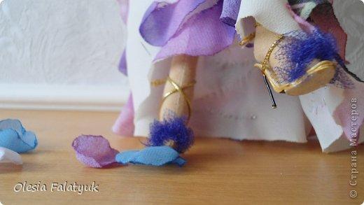 Куклы Мастер-класс Моделирование На тоненьких шпильках МК Бумага Клей Кожа Краска Проволока фото 1