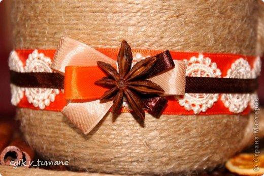 Кружечка с апельсином, цветовая гамма - пожелание заказчицы) фото 3