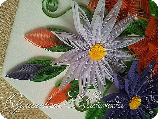 Сделала для подарка. Спасибо всем мастерицам, у кого-то цветочек, у кого-то листочек. фото 5