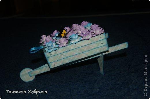 Садовая тележка фото 2