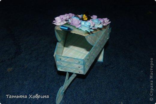Садовая тележка фото 3