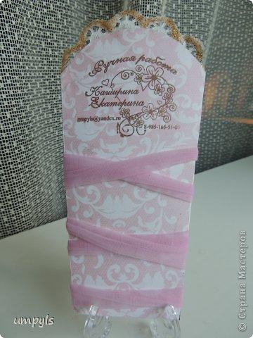 открытка на скорую руку (в цветы) фото 2
