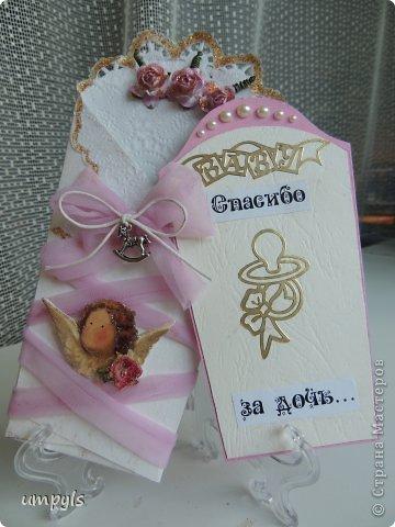 открытка на скорую руку (в цветы) фото 3
