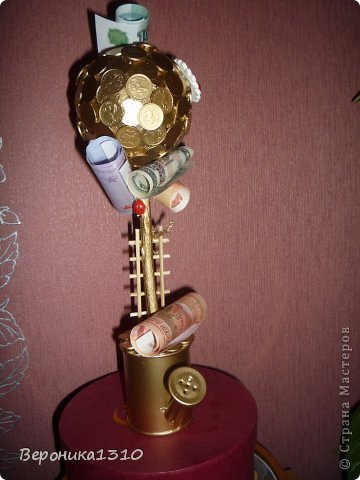 Вот такой скромный денежный топинарий. фото 3