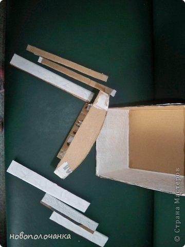 Дорогие мастерицы  берите для поделок сундуков,шкатулок плотный гофрокартон это коробки от импортных производителей  ( телевизоры ,конфеты ,электронная техника и т.д. фото 6