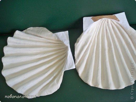 Как сделать ракушку своими руками из ткани