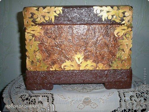 Дорогие мастерицы  берите для поделок сундуков,шкатулок плотный гофрокартон это коробки от импортных производителей  ( телевизоры ,конфеты ,электронная техника и т.д. фото 21