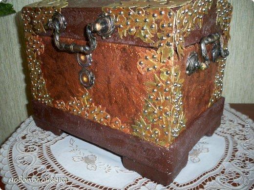 Дорогие мастерицы  берите для поделок сундуков,шкатулок плотный гофрокартон это коробки от импортных производителей  ( телевизоры ,конфеты ,электронная техника и т.д. фото 25