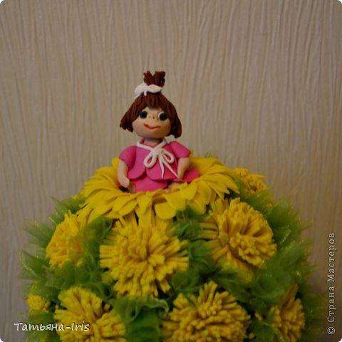 Все одуванчики из холодного фарфора(самодельного). Делала наверно неделю))) Уж больно кропотливая работа с этими цветочками :) фото 3