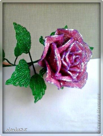 Цветы из рубки бисера мастер класс с пошаговым