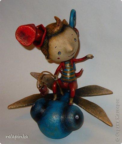 Игрушка Папье-маше На встречу ветру Бумага фото 2