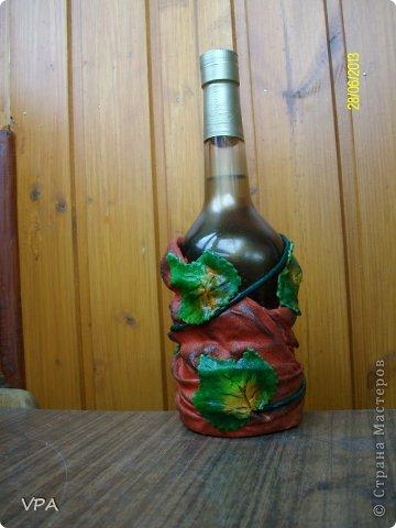 Вот такая бутылочка у меня получилась. фото 2