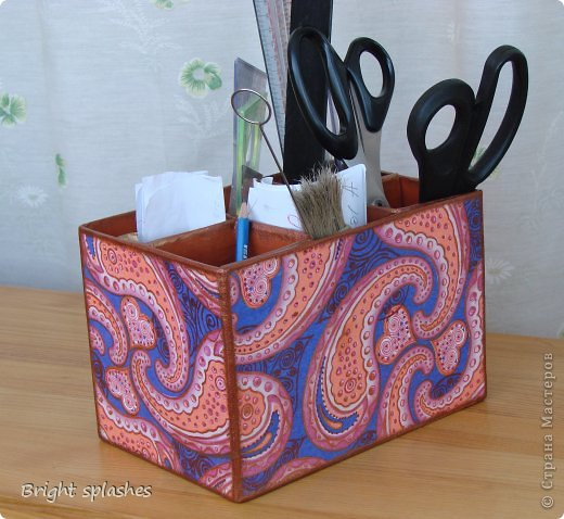 Коробочки.... Им всегда находится применение. Чтобы общение с ними стало более приятным - добавлен цвет. фото 3