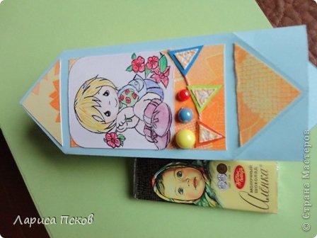 Здравствуйте , дорогие соседи ! Сегодня я к вам с коробочками-конфетками ,по МК Оли Качуровской .Спасибо , Оля!!!! Пытаюсь освоить отрисовки .Пока не очень получается. фото 3