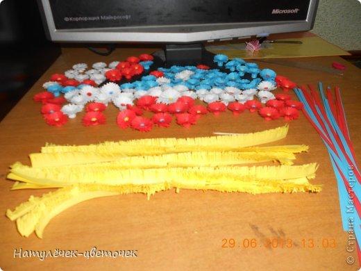 Спасибо за МК Vitulichka, я тоже решила попробовать сделать такой букетик на кухню. фото 3