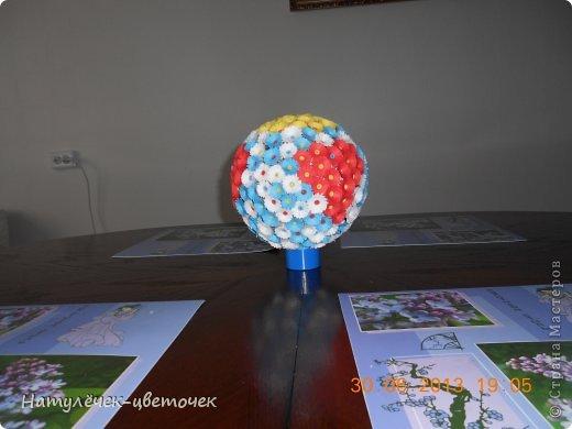 Спасибо за МК Vitulichka, я тоже решила попробовать сделать такой букетик на кухню. фото 6