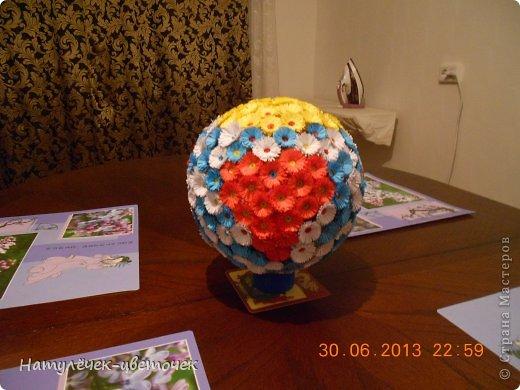 Спасибо за МК Vitulichka, я тоже решила попробовать сделать такой букетик на кухню. фото 1
