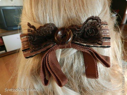 Заколка для волос фото 2