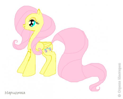 Привет! Сегодня я хочу вам показать свою коллекцию нарисованных пони из мультсериала Мой маленький пони Дружба это магия. Сначала я представлю своих пони, а затем героев мультика и схемки пони. фото 28