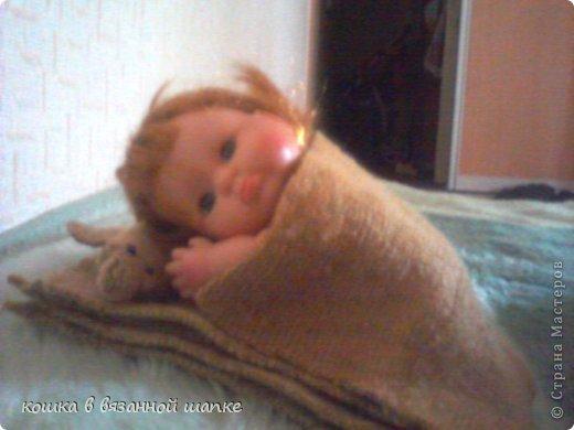 Вот моя куколка,очень красивая и пухленькая-чему я рада!Я назвала ее Сашенькой фото 5