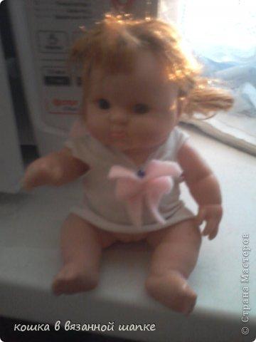 Вот моя куколка,очень красивая и пухленькая-чему я рада!Я назвала ее Сашенькой фото 1