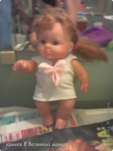 Вот моя куколка,очень красивая и пухленькая-чему я рада!Я назвала ее Сашенькой фото 3