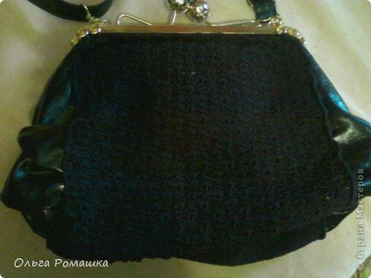 Вот такая сумка получилась из старой. фото 3