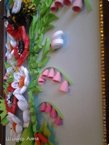 картина как по мне, наполнена красками лета. картину делала с душой и подарила маме! фото 2